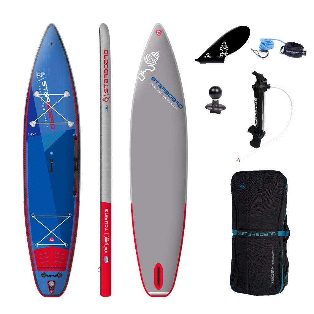 Starboard inflatable sup 12.6 touring deluxe sc