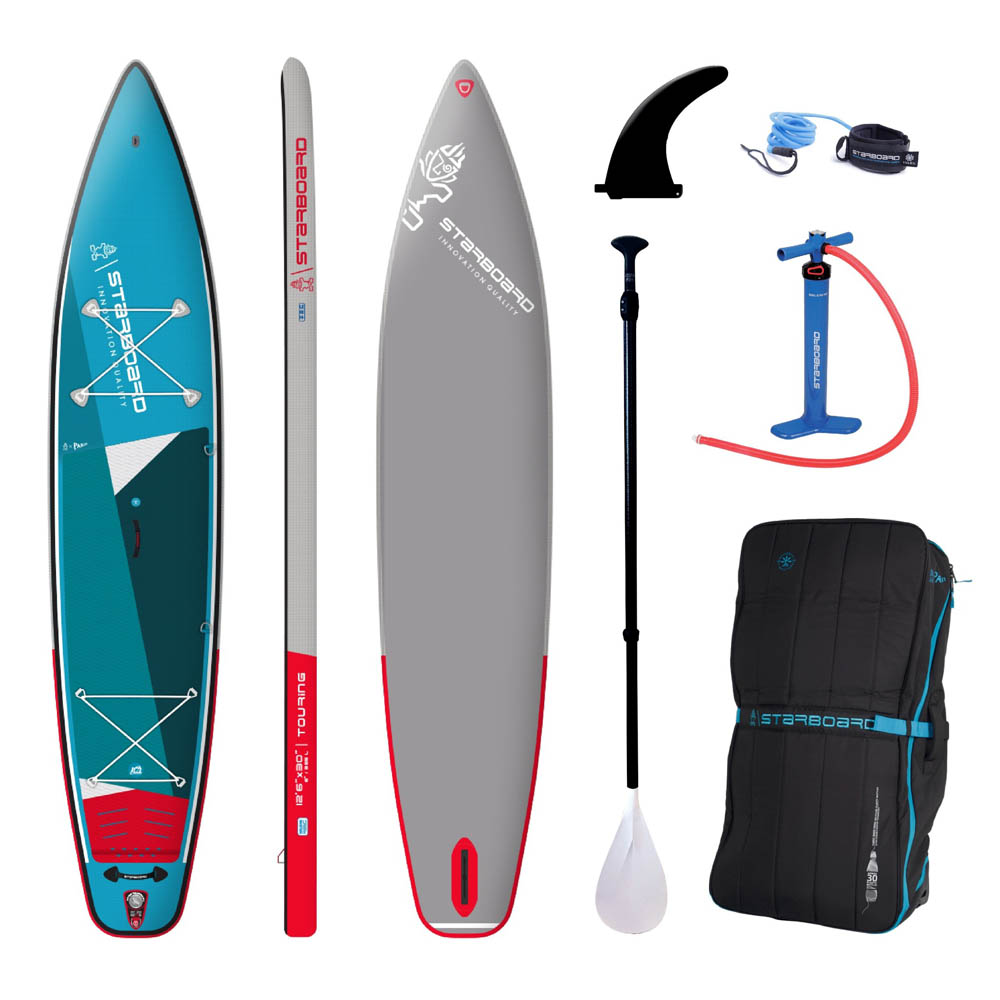 Starboard inflatable sup 12.6 touring zen sc