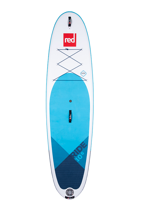 red paddle Ride 10.6 x 32 opblaasbare sup board voordeelpakket