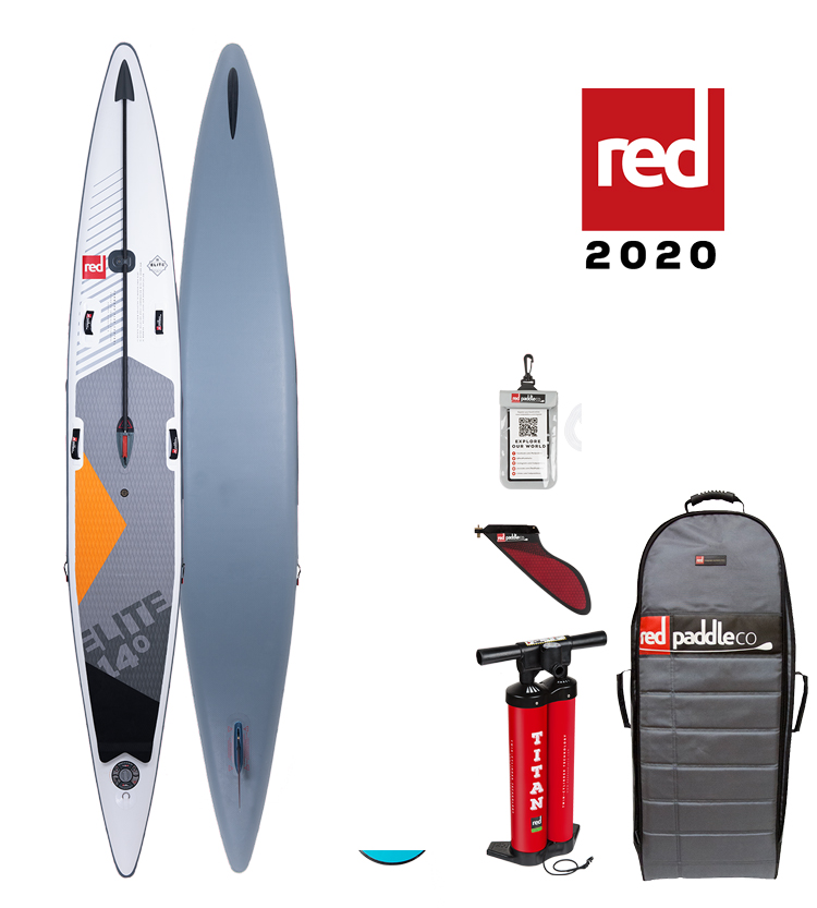 red paddle Elite 14. x 27 opblaasbare sup board voordeelpakket