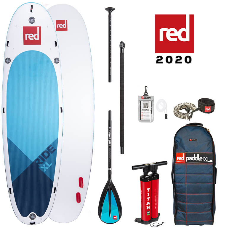 red paddle Ride XL 17. x 60 opblaasbare sup board voordeelpakket