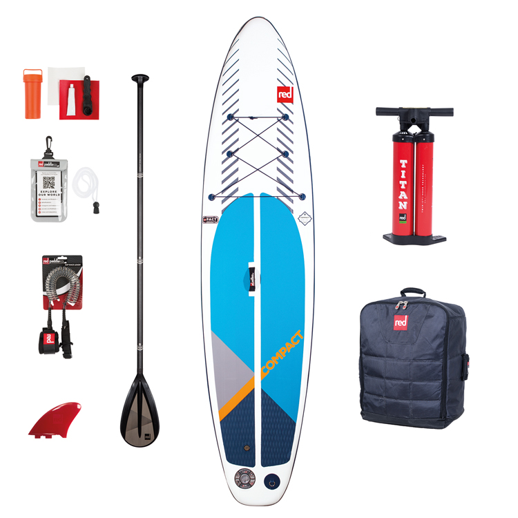red paddle Compact package 11 opblaasbare sup board voordeelpakket