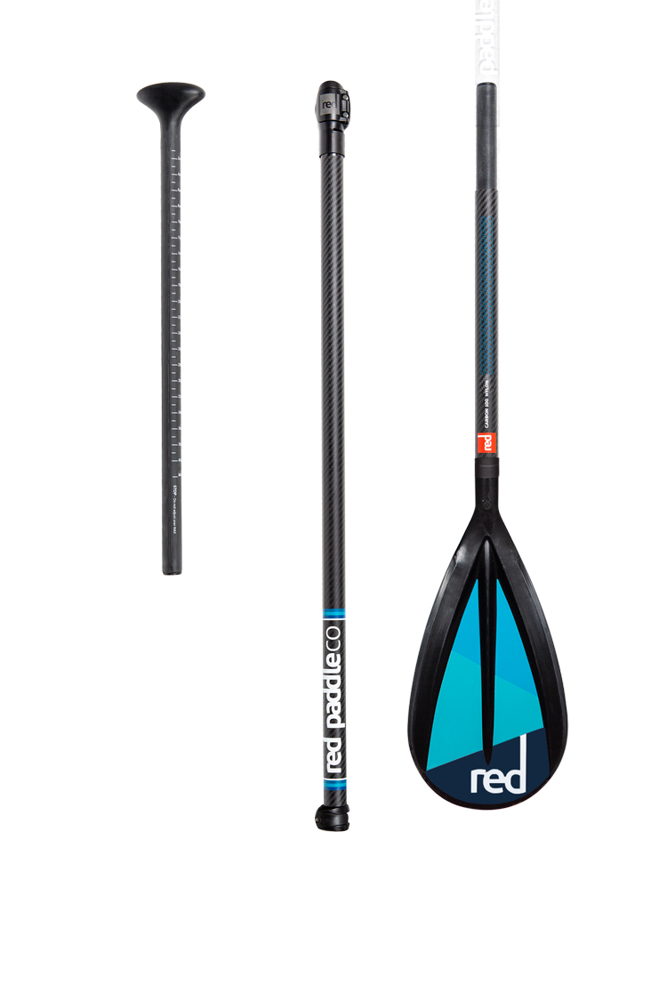 red paddle peddel Carbon100-Nylon 3piece CL