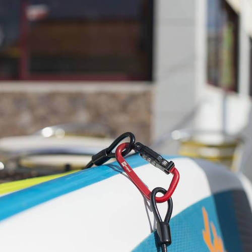 red paddle Board lock